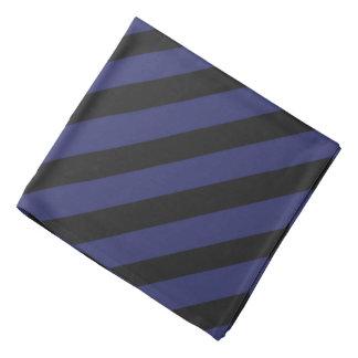 Blue 'n Black Pirate Stripes Bandana