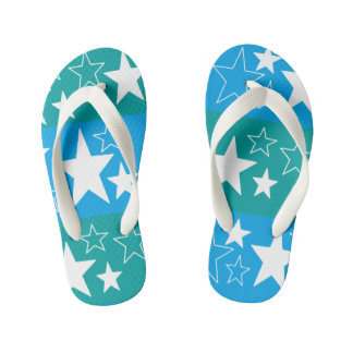 blue 'n green ... flip flops for toddlers by DAL