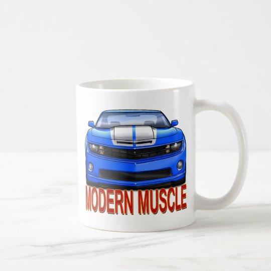 BLUE n WHITE CAMARO.png Coffee Mug