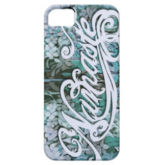 Blue Namaste Script iPhone 5 Case