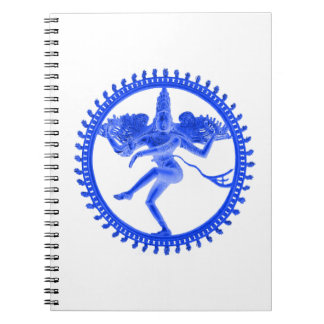 Blue Nataraja Notebook