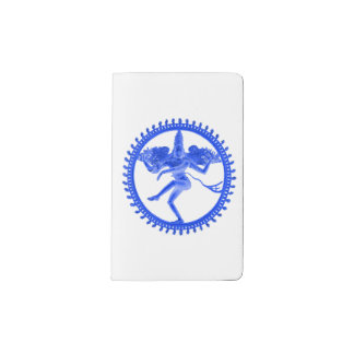 Blue Nataraja Pocket Moleskine Notebook
