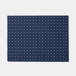 Blue Nautical Pattern Doormat