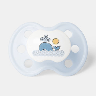 Blue Nautical Whale Pacifier