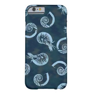 Blue Nautilus I-phone 6 case