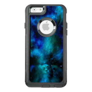 Blue Nebula, Stars  and Planet OtterBox iPhone 6/6s Case