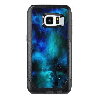 Blue Nebula, Stars and Planet OtterBox Samsung Galaxy S7 Edge Case