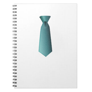Blue Necktie Notebook