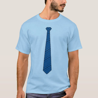 Blue Necktie Shirt
