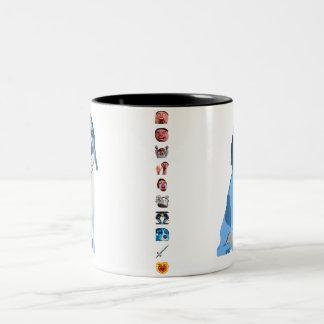 Blue Ned Mug with Emote Stripe