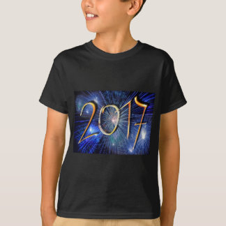 Blue New-Years-Day #3 T-Shirt