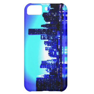 Blue New York City Cover For iPhone 5C