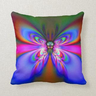 Blue Night Butterfly American MoJo Pillow