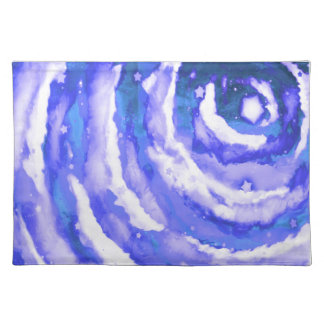 Blue Night Sky Placemats