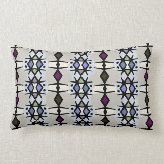 Blue Nile Pattern Lumbar Pillow