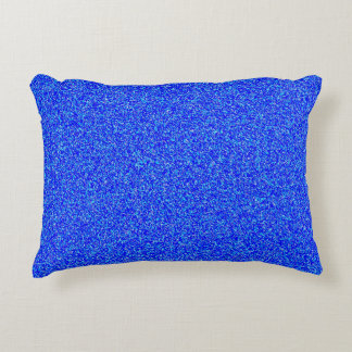 blue noise Polyester Accent Pillow