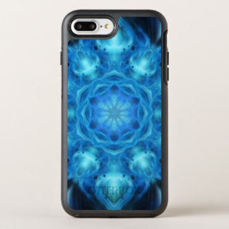 Blue Nova Mandala OtterBox Symmetry iPhone 7 Plus Case