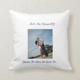 Blue Ocean | Couples | Throw Pillow