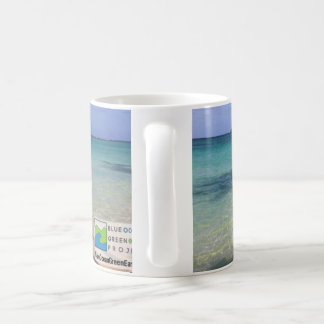 Blue Ocean Green Earth Lanikai Mug