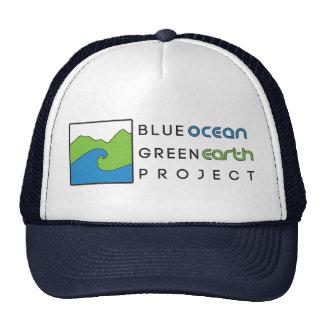 Blue Ocean Green Earth Project Hat- Navy Trucker Hat
