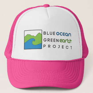 Blue Ocean Green Earth Project Pink  Hat