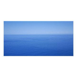 Blue Ocean Customized Photo Card