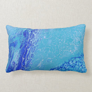 Blue Ocean throw pillow/Decorative pillow/ Lumbar Pillow