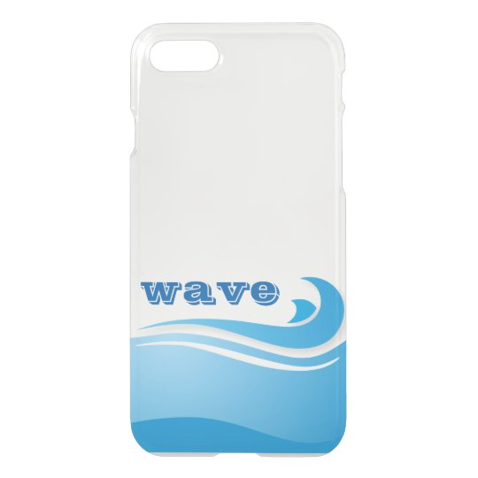 Blue Ocean Wave Custom iPhone 8/7 Case