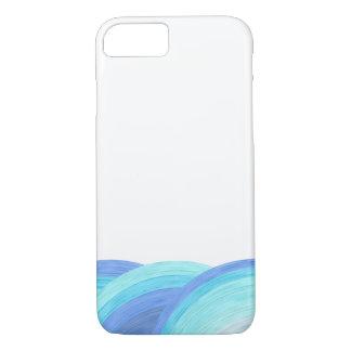 Blue ocean waves iPhone 7 case