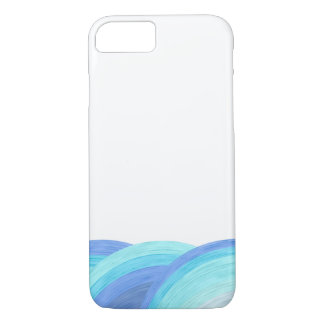 Blue ocean waves iPhone 8/7 case