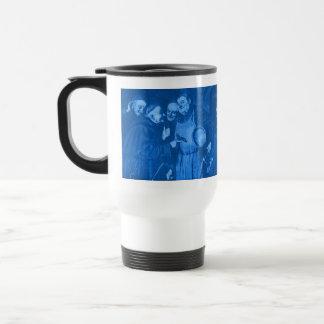 Blue Octoberfest Monks Secret Recipe Travel Mug