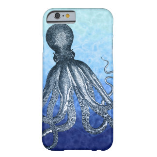 Blue Octopus Barely There iPhone 6 Case
