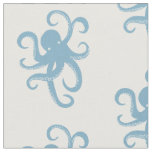 Blue Octopus Fabric
