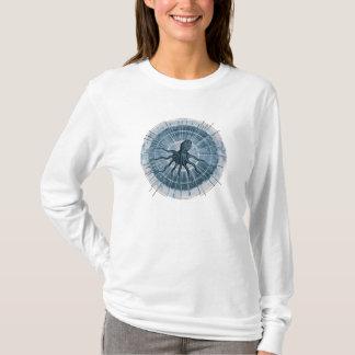 Blue Octopus Long Sleeve Shirt