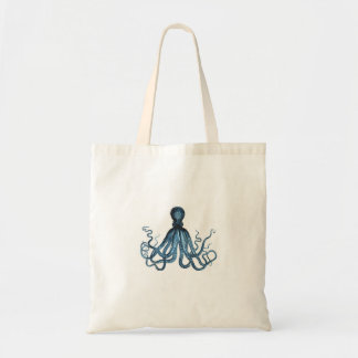 Blue octopus nautical coastal ocean gifts