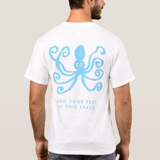 Blue Octopus Scuba Diving T-Shirt