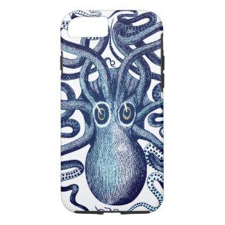 Blue Octopus Sea Monster iPhone 8/7 Case