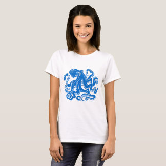 Blue Octopus Shirt