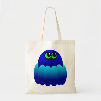 Blue Octopus Tote Bag