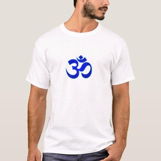 Blue Om T-Shirt