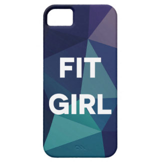 Blue Ombre Fit Girl Phone Case