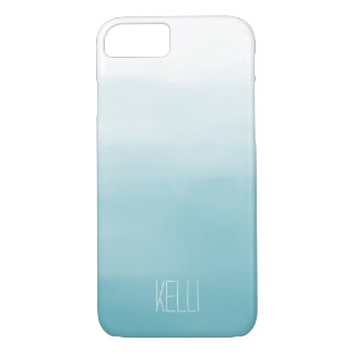 Blue Ombre iPhone 8/7 Case