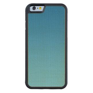 Blue Ombre Maple Wood Maple iPhone 6 Bumper Case