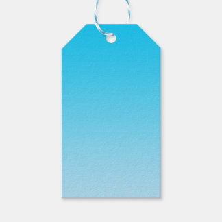 Blue Ombre Pack Of Gift Tags