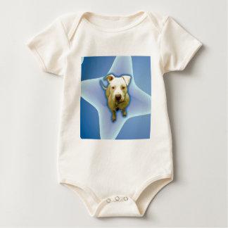 Blue on Blue Baby Bodysuit
