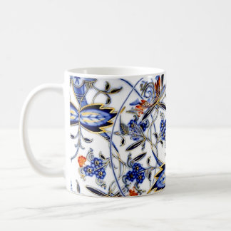 Blue Onion Vintage China Pattern Coffee Mug