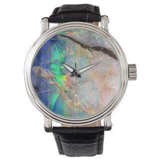 Blue Opal Print Watch