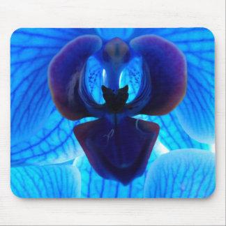 """""""Blue Orchid"""" """"blue orchid"""" Mousepad"""