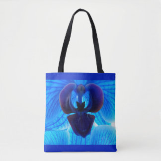 Blue Orchid carrying bag