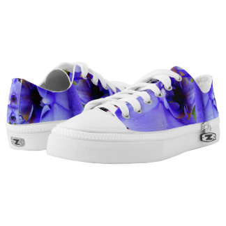 Blue Orchids Low-Top Sneakers